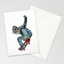 Skateboarder Stationery Cards