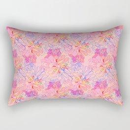 psychedelic succulent Rectangular Pillow