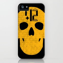 Pittsburgh 412 Steel City Skull Design iPhone Case