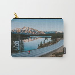 Two Jack Lake during sunrise Carry-All Pouch