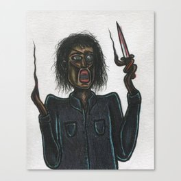 Stabby Canvas Print