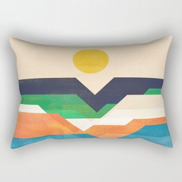 Tale from the shore Rectangular Pillow