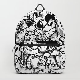 Imaginary Noir Characters Backpack