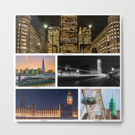 On a clear day, you can see London Metal Print