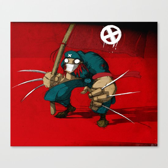 Revolution X Canvas Print