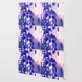 GLAM CIRCLES #Soft Pink/Blue #1 Wallpaper