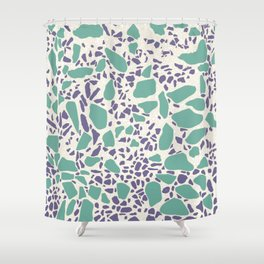 Terrazzo AFE_T2019_S6_1 Shower Curtain