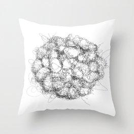 Ampyang Scribble Throw Pillow