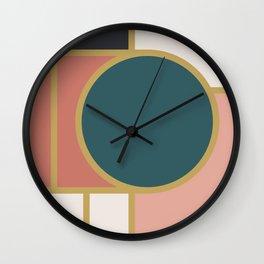 Maximalist Geometric 05 Wall Clock