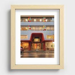 48 Victoria St Recessed Framed Print