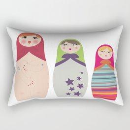 Russians Dolls whoops !  Rectangular Pillow