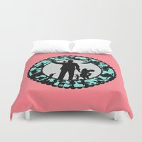 fairy tale Duvet Covers featuring Fairy Tale by HouseOfWonderland