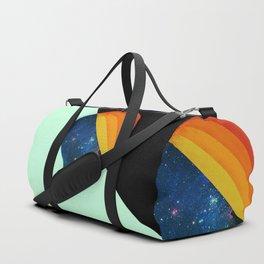 049 Cosmic retro ice cream roll melting Duffle Bag