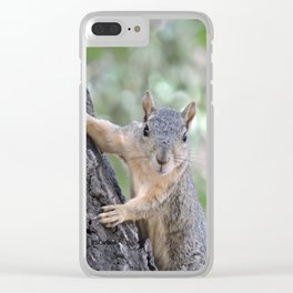 Who You Lookin' At? Clear iPhone Case