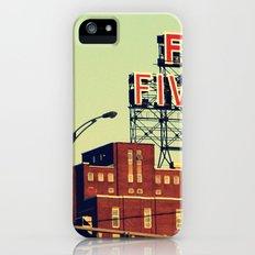 montreal five rose  iPhone (5, 5s) Slim Case