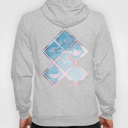 Abstract Triangulated XOX Design Hoody