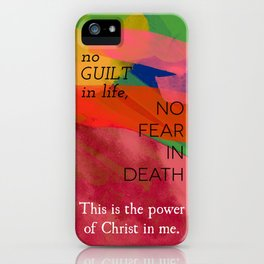 Colors that stain iPhone Case