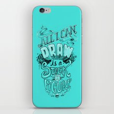 All I Can Draw iPhone & iPod Skin