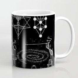 Dark Grid Work Coffee Mug