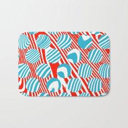 These Swirls and Dots Bath Mat