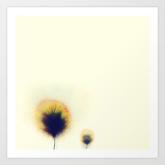 Datadoodle Flowers 02 Art Print
