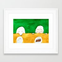 chocolate Framed Art Prints featuring Chocolate by Satoshi OTA