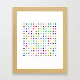 Zolpidem Framed Art Print