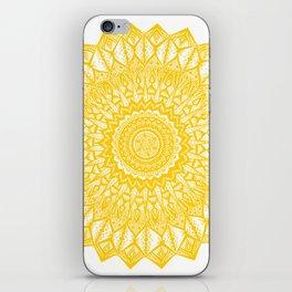 Sunshine-Yellow iPhone Skin