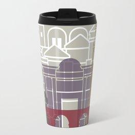 Cordoba skyline poster Travel Mug