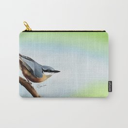 Nuthatch bird Carry-All Pouch