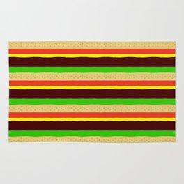Burger Pattern Rug