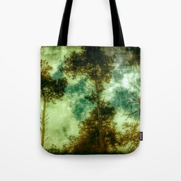 Forest Memories In Green Tote Bag