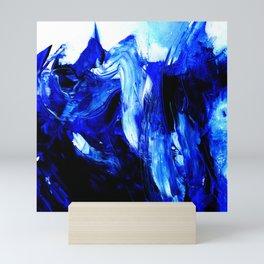 Dancing In Blue No. 1 by Kathy Morton Stanion Mini Art Print