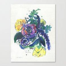 Feeling Violet Canvas Print