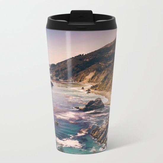 Big Sur Pacific Coast Highway Metal Travel Mug