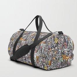 Gemstone Cats - Gold Duffle Bag