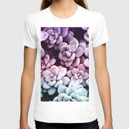 Dreamy Succulents #1 #pastel #decor #art #society6 T-shirt