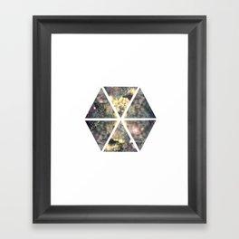 Hexagon 2 Framed Art Print