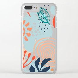 Essence of Spring Clear iPhone Case