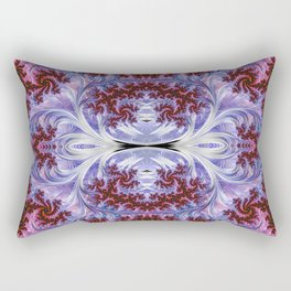 BBQSHOES: Fractal Art Design Mother Of Pearl #1814 Rectangular Pillow