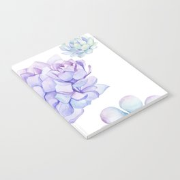 Pastel Echeveria #society6 #buyart Notebook