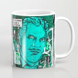 IT IS HARD TO BE A CITIZEN - Berlin Coffee Mug