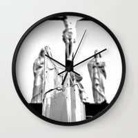 religious Wall Clocks featuring Religious aesthetics by Vorona Photography