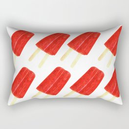 Red Popsicles Rectangular Pillow
