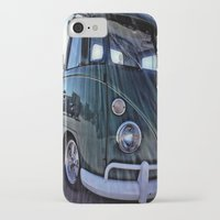 vw iPhone & iPod Cases featuring vintage vw by Joedunnz