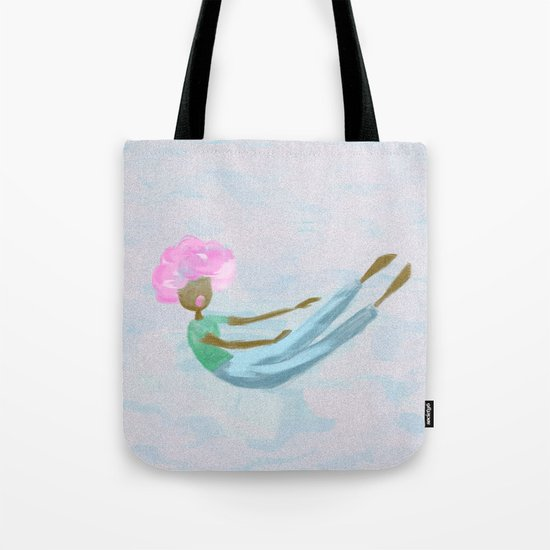Suspended Attention Tote Bag