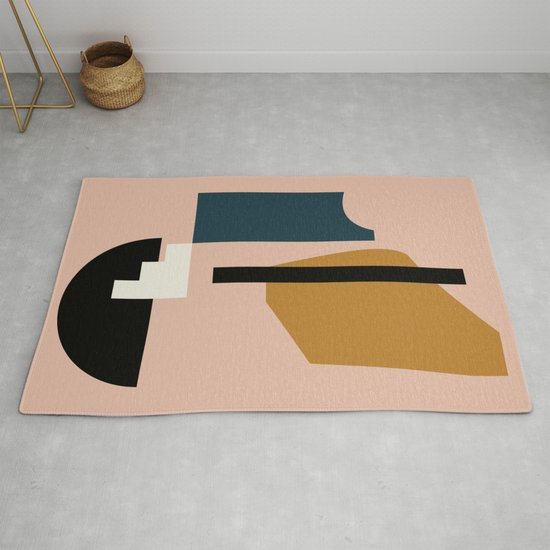 Shape study #2 - Lola Collection Rug by