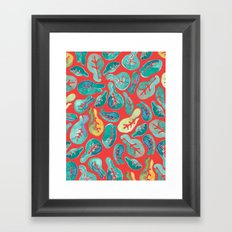 Fiddle Fig Framed Art Print