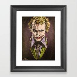 You're Just A Freak... Like Me! Framed Art Print