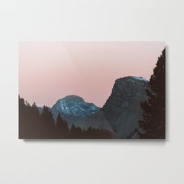 Twilight Mountain | Nature and Landscape Photography Metal Print
